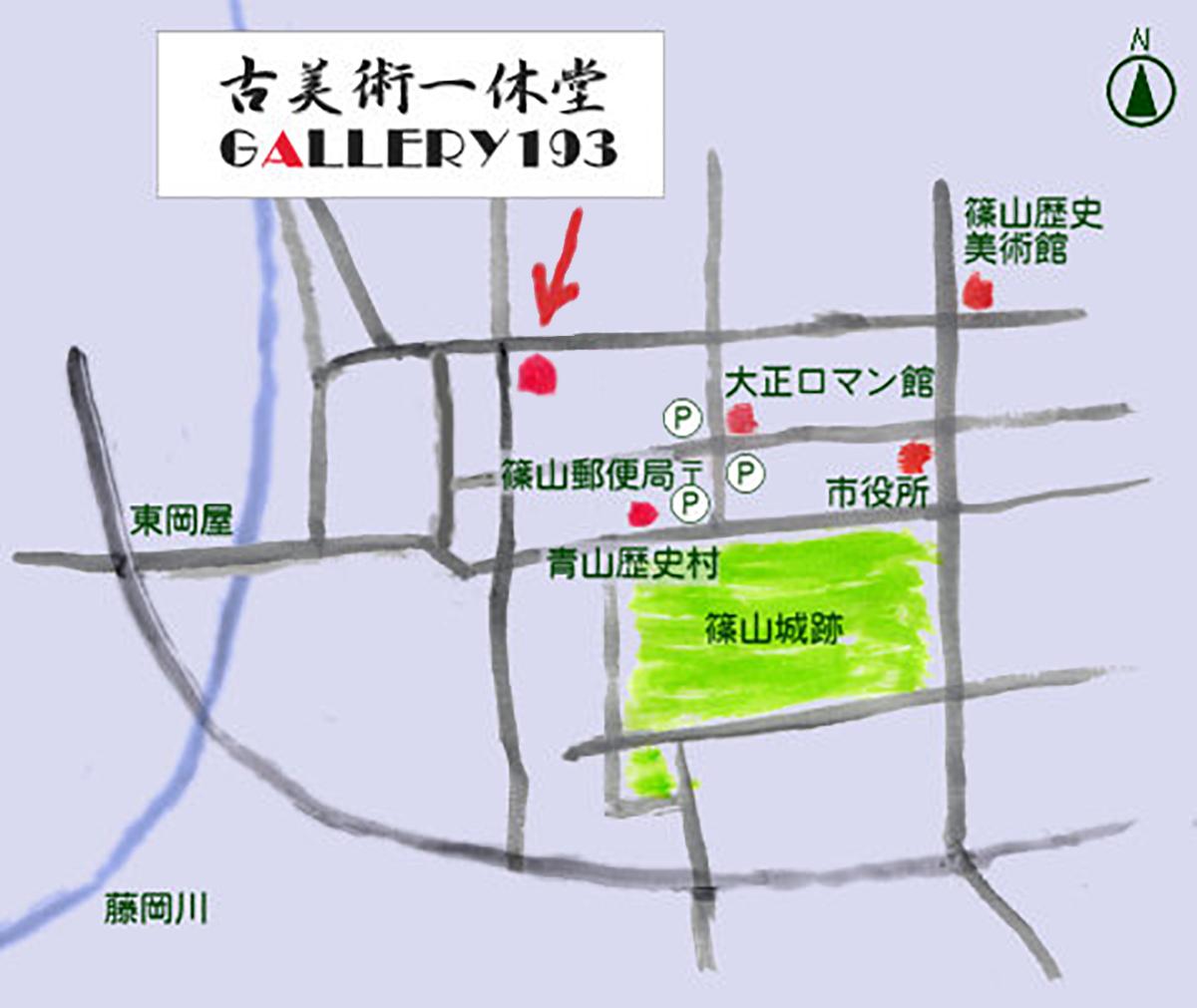 一休堂の地図